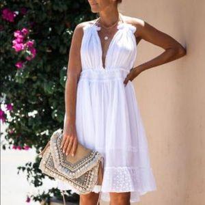 Raga Cotton Halter Dress NWT
